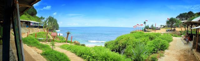 Mau ke Pantai Aneh di Pacitan? Begini Rute Menuju Pantai Banyu Tibo Pacitan