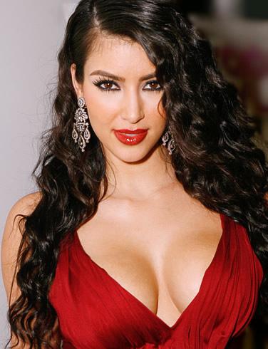 kim kardashian hot breast