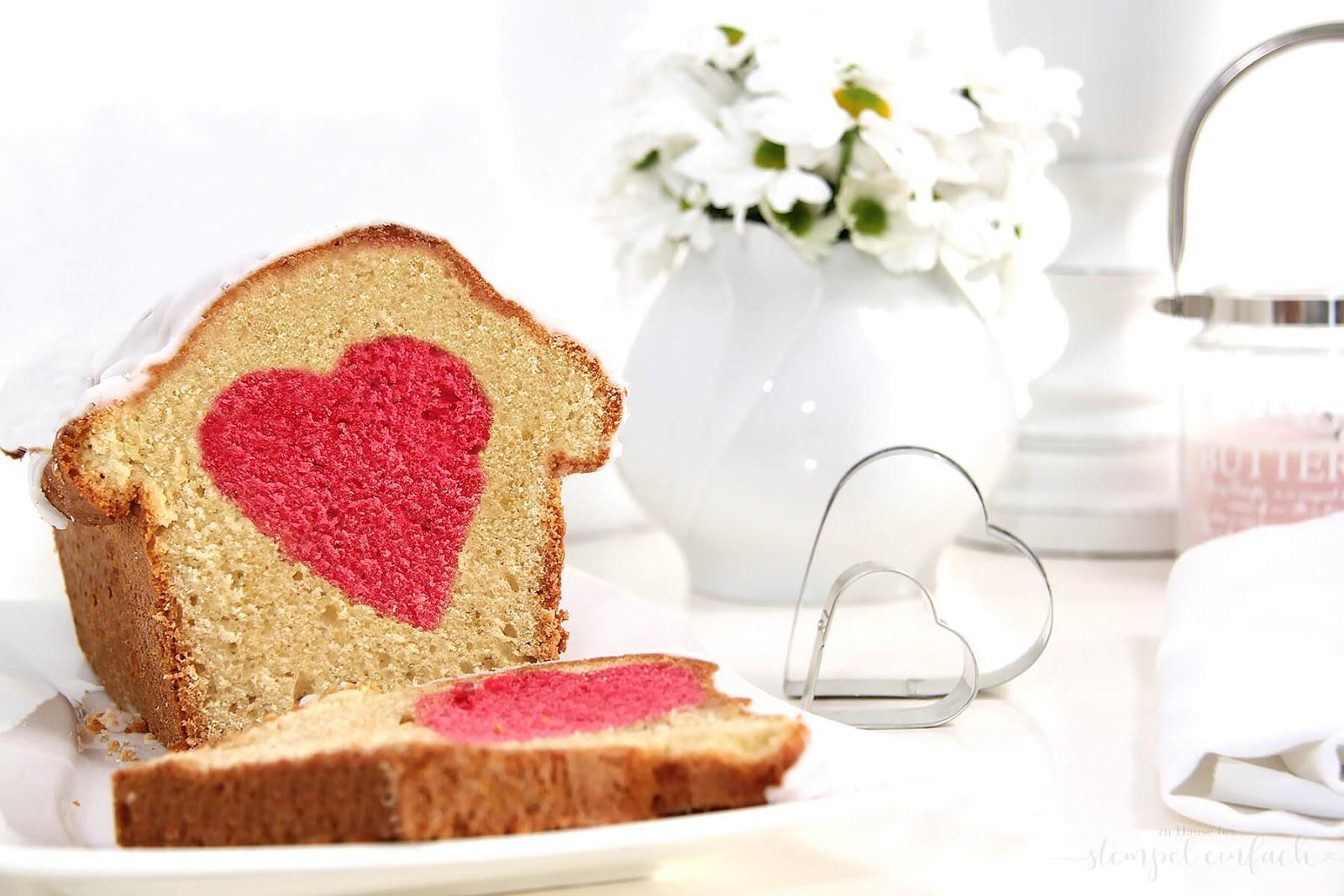 kuchen zum valentinstag