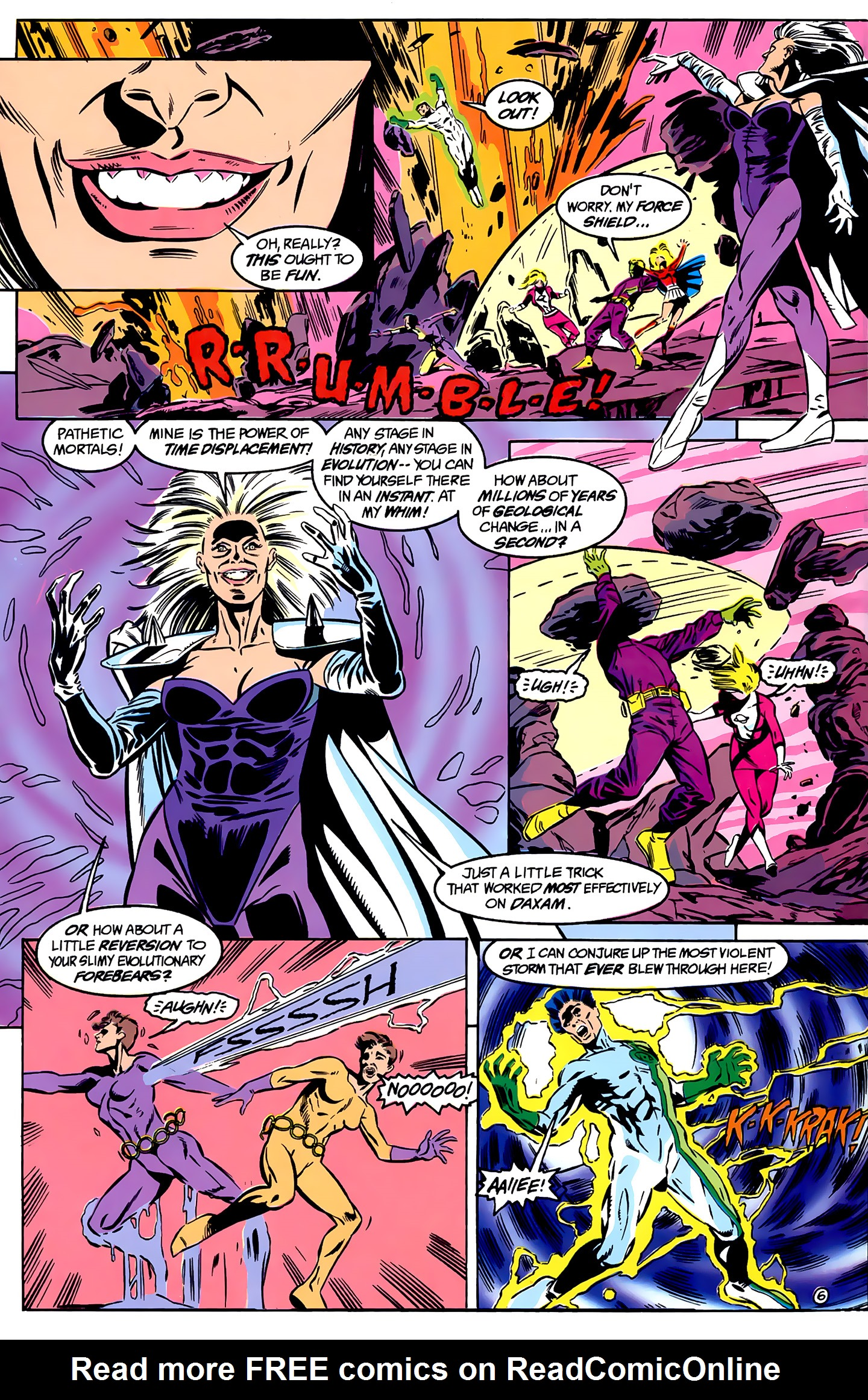 Legion of Super-Heroes (1989) _Annual_1 Page 6