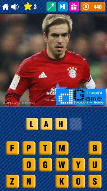 Calcio Quiz 2017 soluzione livello 1-10 | Parola e foto