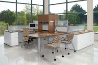 Global Adaptabilities Open Concept Office Furniture
