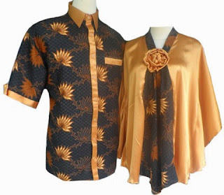 Model Baju Batik Couple Lebaran Terbaru