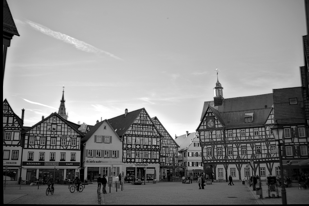 The Weekend in Black and White (10/2019) – Bad Urach