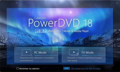 Screenshot CyberLink PowerDVD Ultra 18.0.1415.62 Full Version