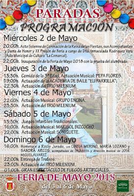Paradas - Feria 2018 - Programa