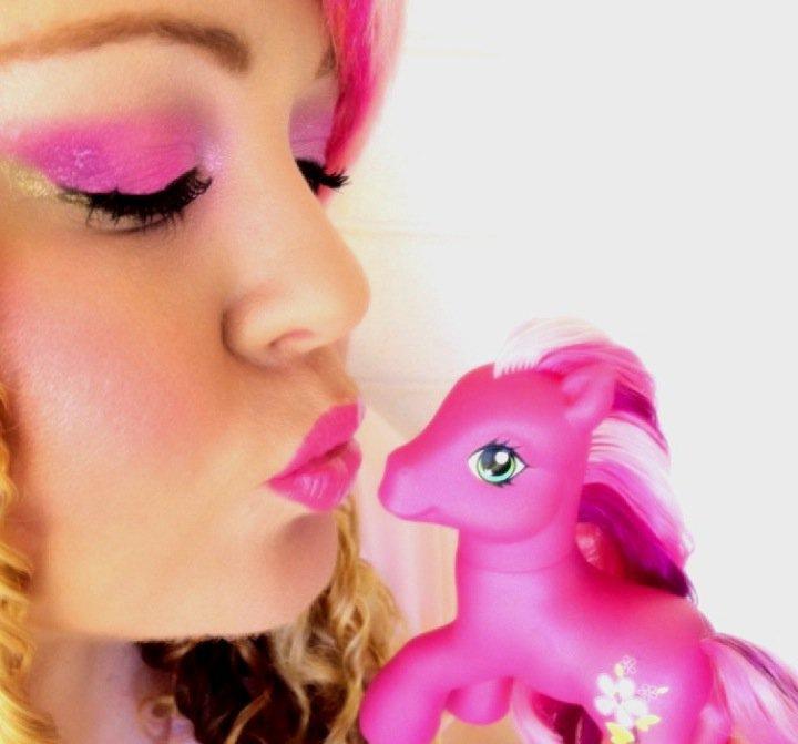My little pony makeup