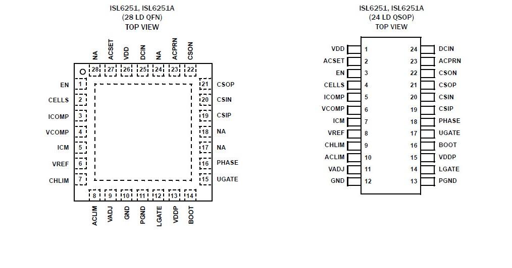 LAPTOP REPAIR TIPS: ISL6251A IC DATASHEET DOWNLOAD