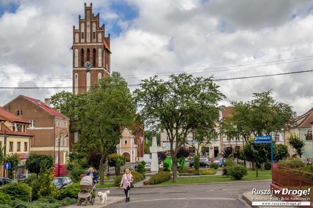 Jeziorany - spokojne miasteczko na Warmii