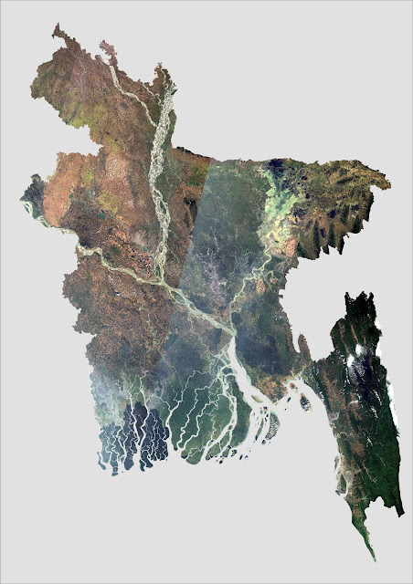 Generated from Landsat 8 satellite images captured during November 2016
