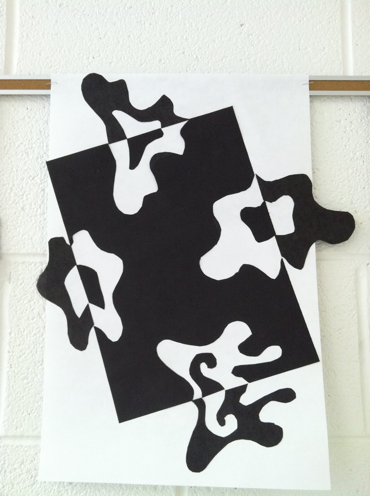 Arty Party Positive And Negative Space Designs