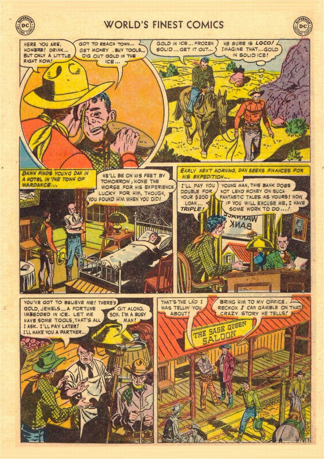 Read online World's Finest Comics comic -  Issue #58 - 31