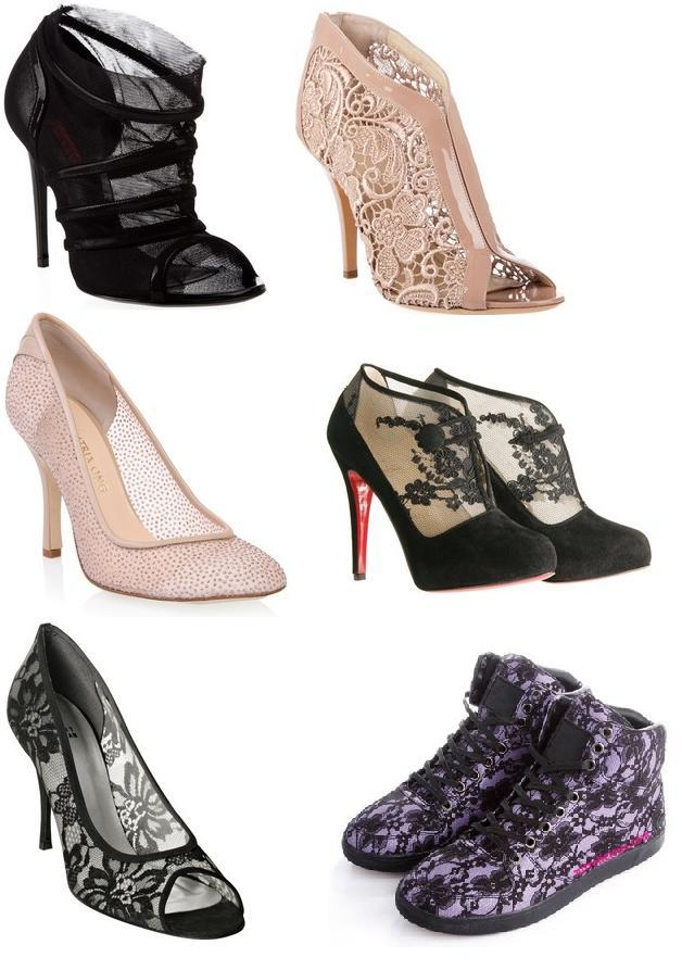 dd48330c05 Modelos Sapatos Femininos Com Renda - Novos Modelos 2014