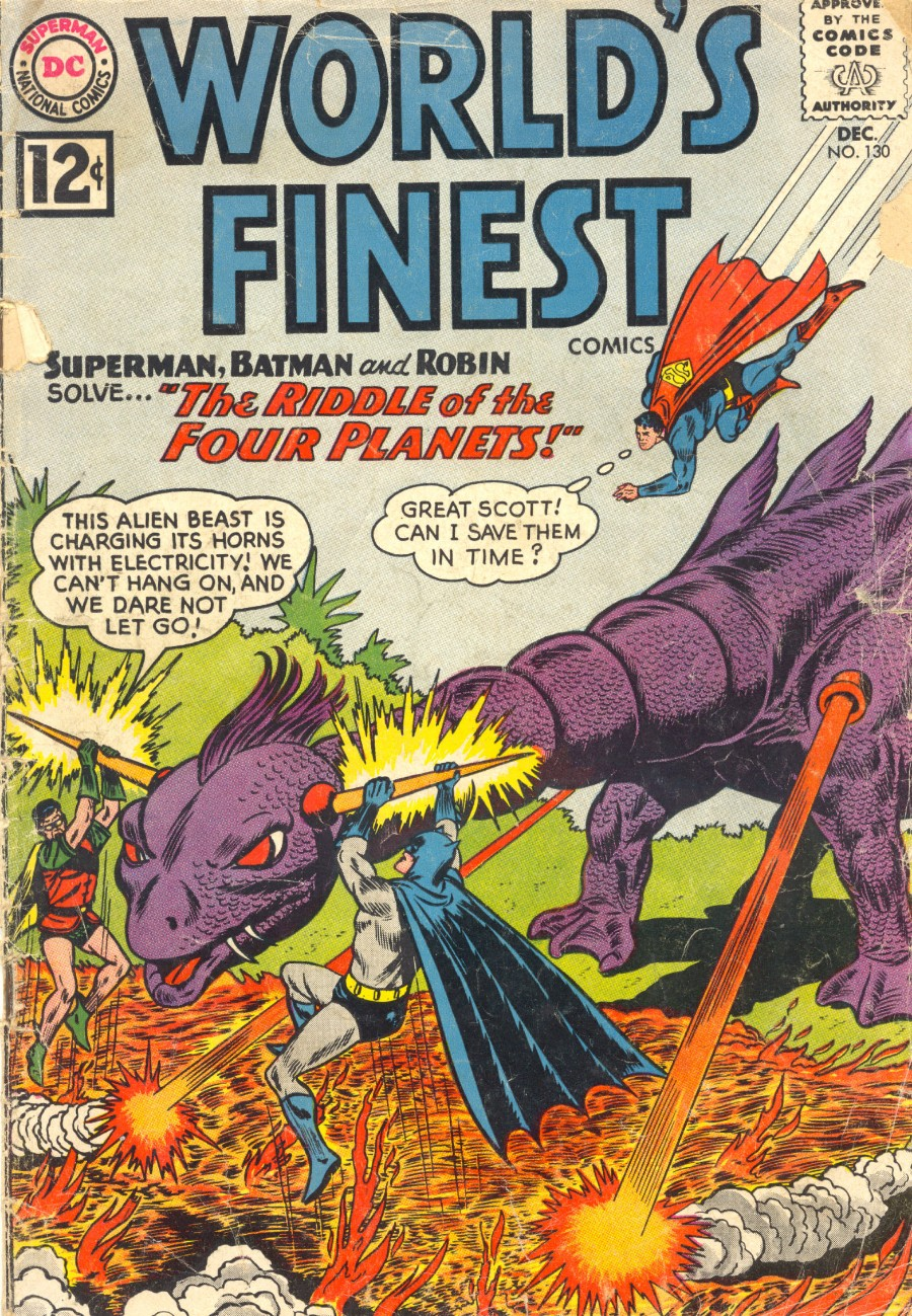 Read online World's Finest Comics comic -  Issue #130 - 1