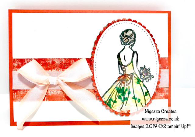 Paper Piecing with Stampin' Up!  Wonderful Moments Nigezza Creates