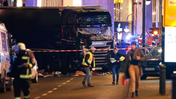 Police: Truck Attack That Killed 12 In Berlin 'intentional'