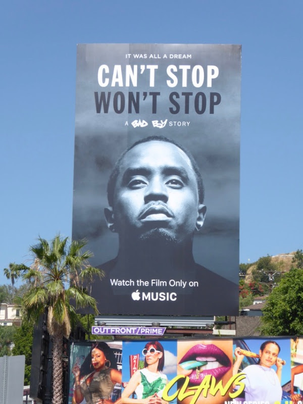 Cant Stop Wont Stop Apple Music film billboard