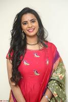 Manasa in Pink Salwar At Fashion Designer Son of Ladies Tailor Press Meet Pics ~  Exclusive 53.JPG