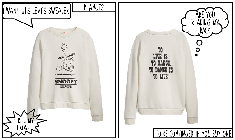 Sweater; fashion; look; outfit; peanuts; charlie brown;