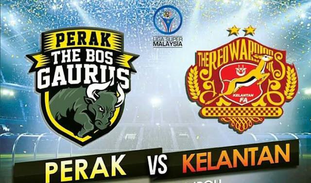 Live Streaming Perak vs Kelantan 1 Mac 2017