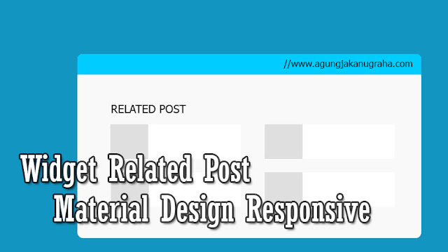 Cara Membuat Related Post Material Design