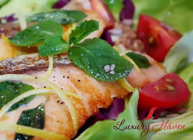 pink himalayan crystal salt healthy salmon salad recipe