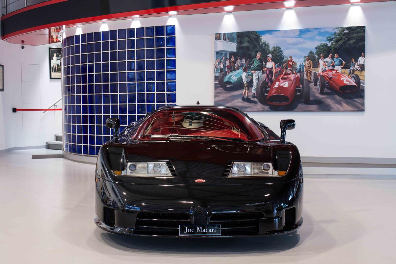 There's A Rare Black Dauer-Built Bugatti EB110 SS For Sale In London | Carscoops