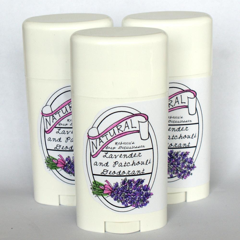 Natural Lavender & Patchouli Deodorant Recipe