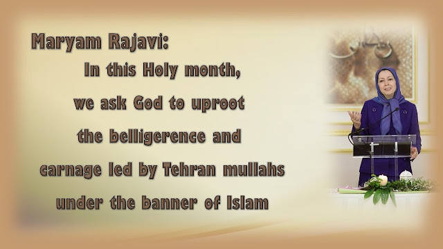 ّIran-Maryam Rajavi's felicitations on Ramadan's first Iftar with mothers of martyrs and supporters of the Iranian Resistance08 June 2016
