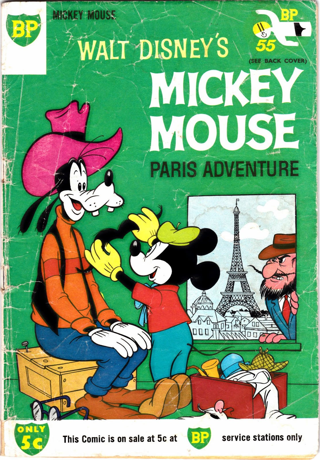 South African Comic Books Bp Mickey Mouse 89-3833