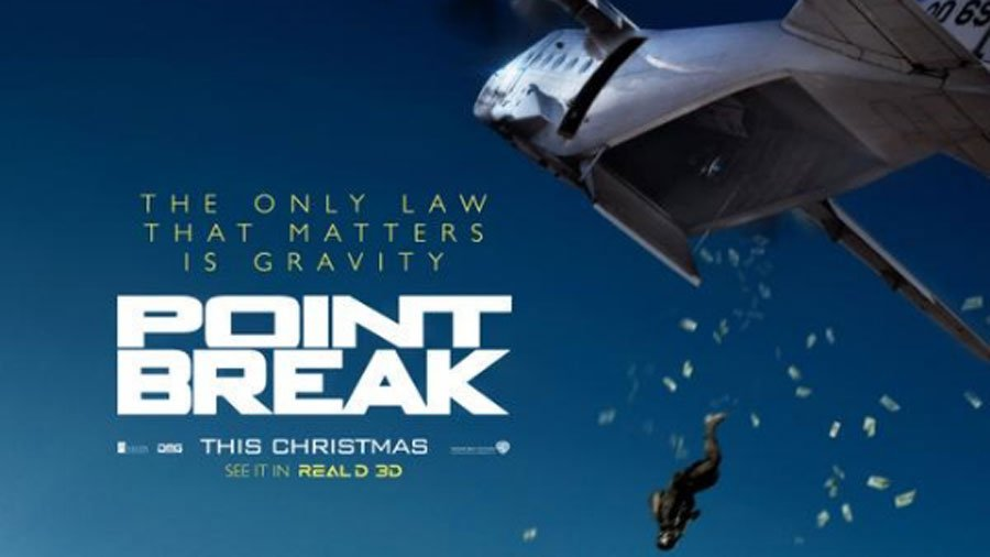 """Point Break"". nueva versión, Trailer"