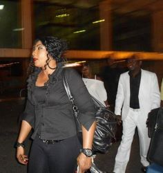 SPOTTED: Actress-turned-evangelist, Eucharia Anunobi arrives Senegal for a religious crusade