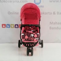 Kereta Bayi Hugo RC2030 Starlight 3-Wheeler Full Canopy