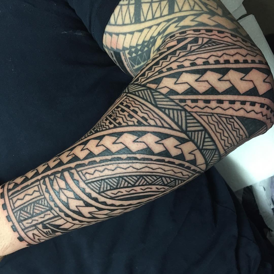 hawaiian tribal tattoo sleeves wallpaper tattoos design