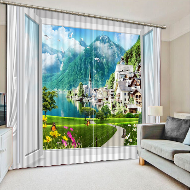 Cortinas modernas y personalizadas con fotos - Diseno cortinas modernas ...