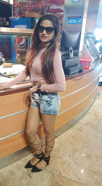 Diya Singh She is very glamourus and loves to wear short skirts
