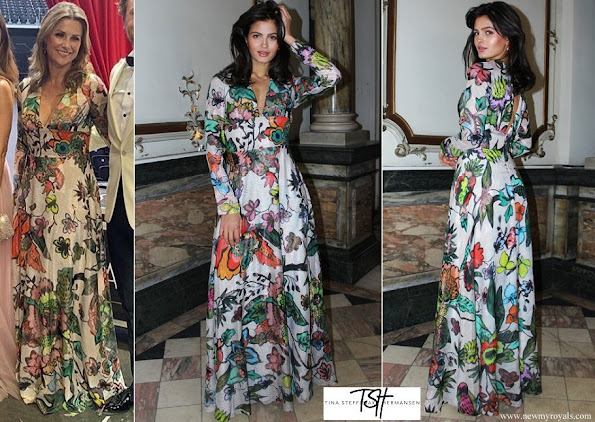 Princess Martha Louise wore TSH Tina Steffenakk Hermansen floral dress