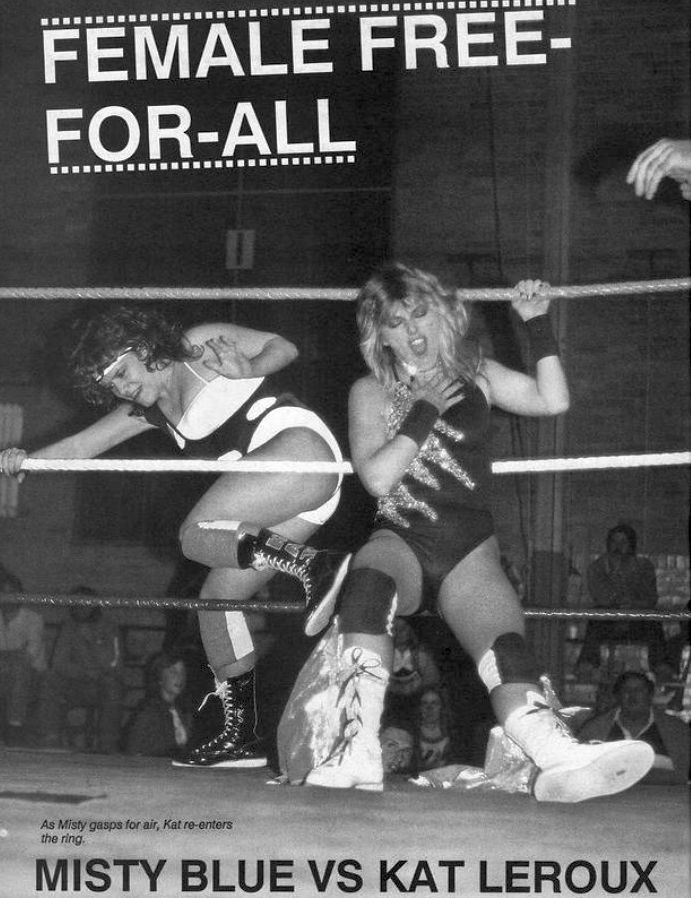 Womens Pro Wrestling Kat Leroux - Classic Female Wrestling-3176