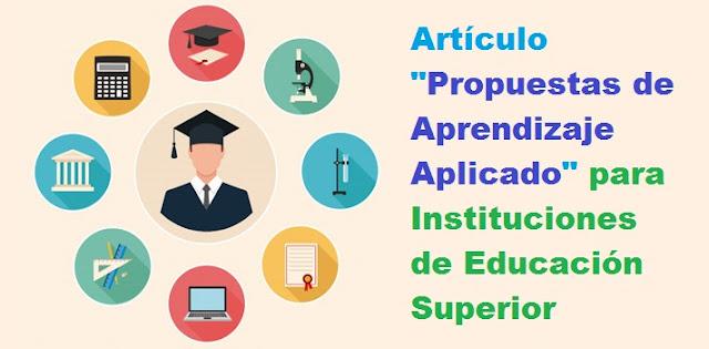 Articulo Propuestas de Aprendizaje Aplicado