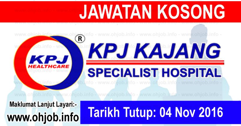 Job Vacancy at KPJ Kajang | JAWATAN KOSONG KERAJAAN ...