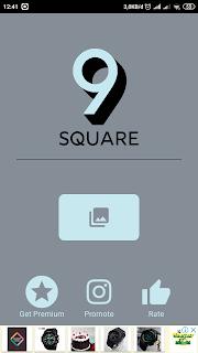aplikasi 9square untuk membuat grid instagram