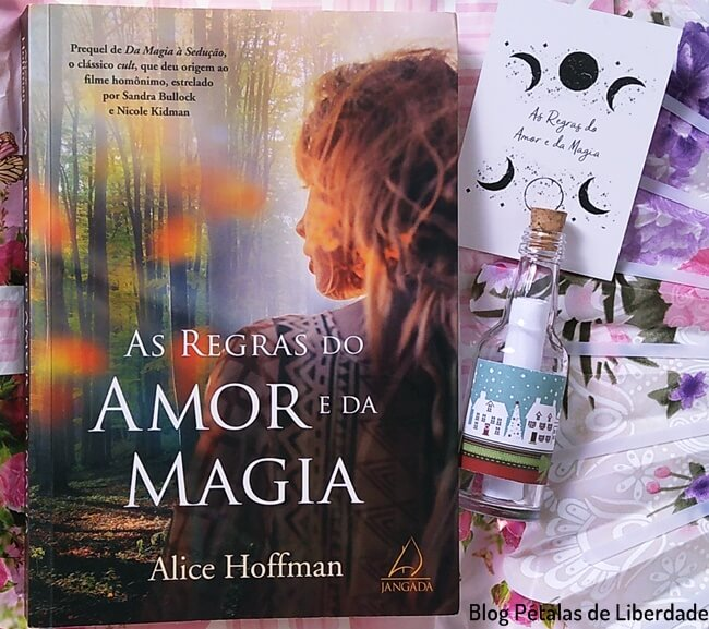 Resenha, livro, As-regras-do-amor-e-da-magia, Alice-Hoffman, Editora-Jangada, foto, capa,