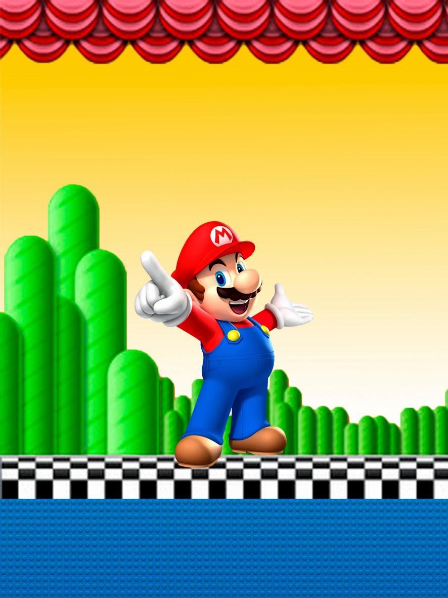 Super Mario Bros: Etiquetas Gratis para Candy Bar. | Ideas y ...