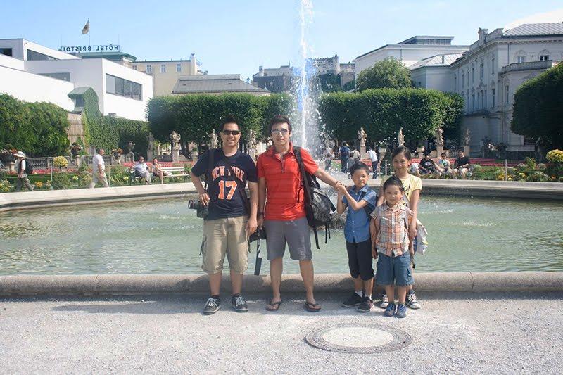 Familienurlaub nach Salzburg