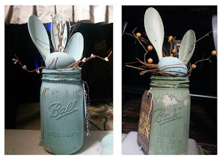LINK to the EASTER MASON JARS