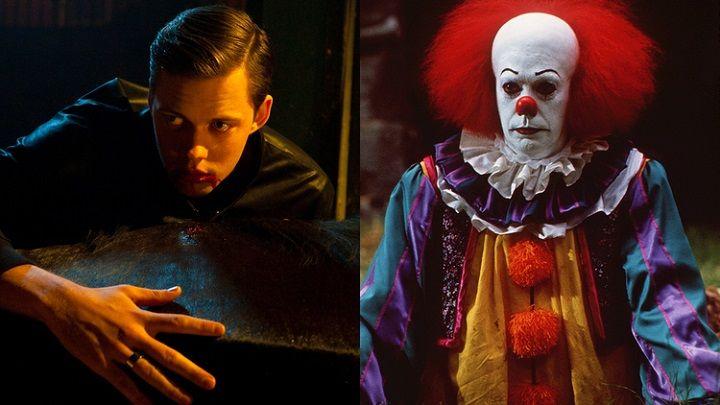 Оно, IT, Стивен Кинг, Билл Скарсгард, клоун Пеннивайз, ужасы, фильм ужасов, horror