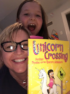 Lucy, me and Unicorn Crossing book