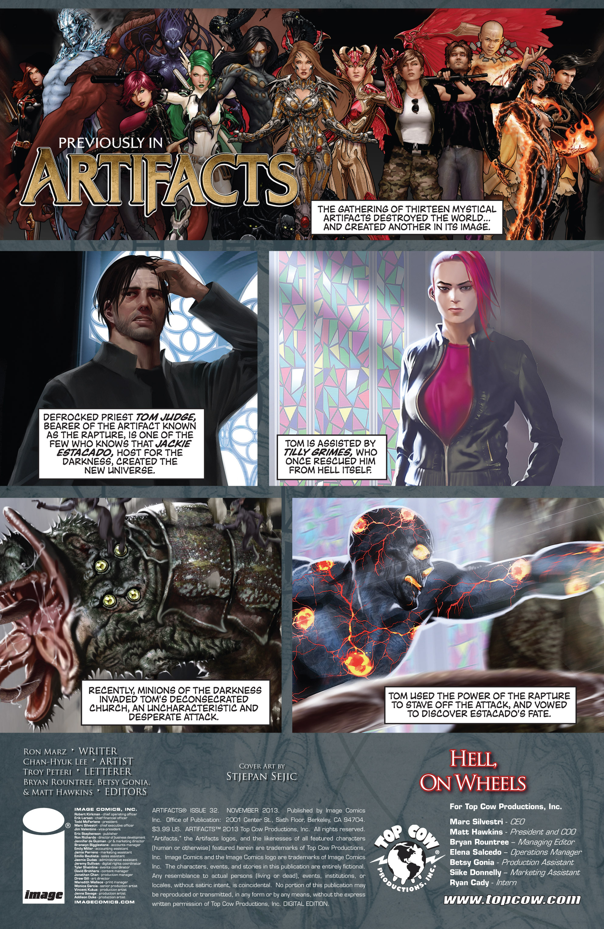 Read online Artifacts comic -  Issue #32 - 2