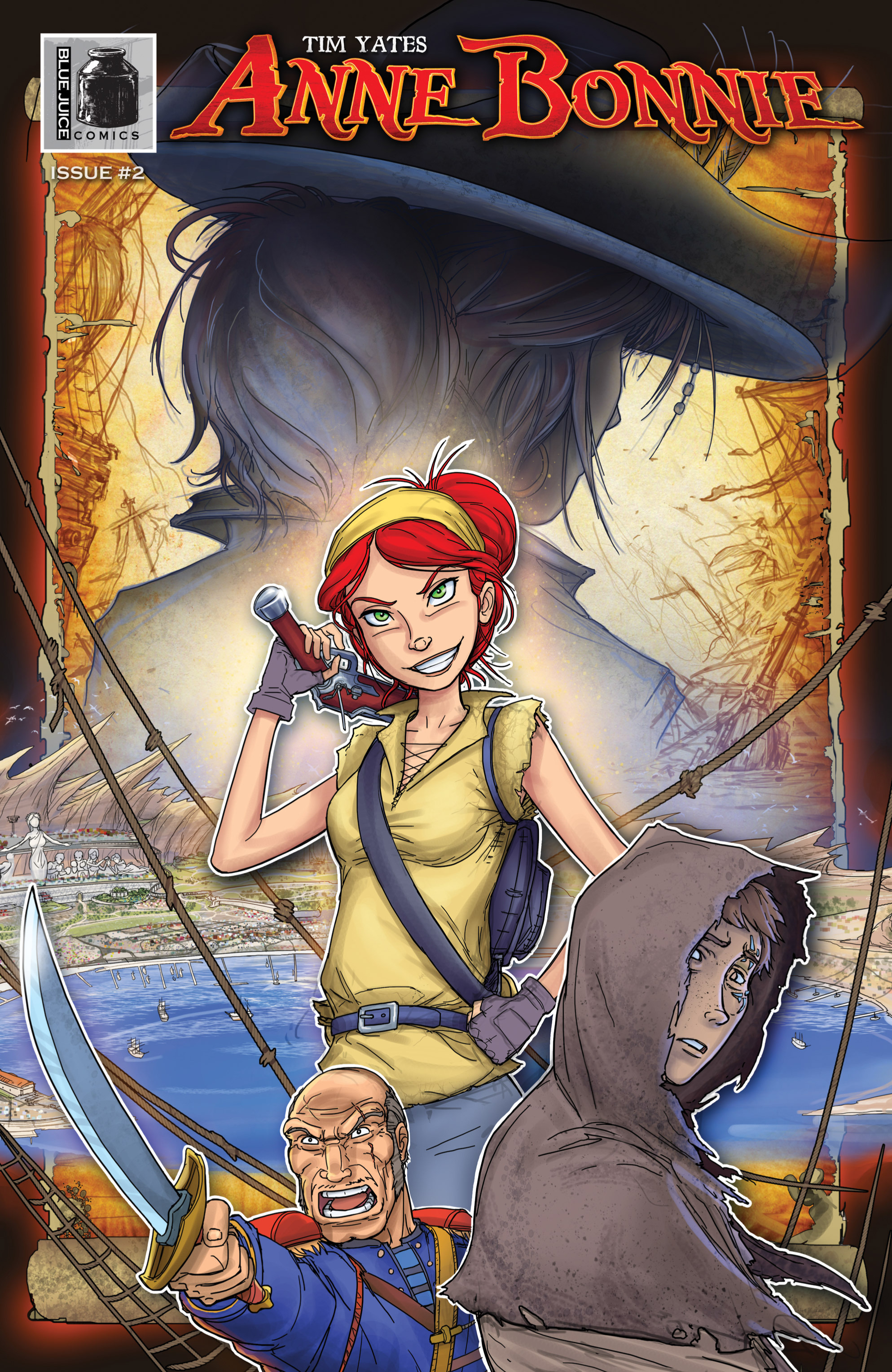 Read online Anne Bonnie comic -  Issue #2 - 1