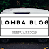 Lomba Blog Februari 2018 (Blogging Competition)